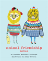 Animal Friendship Notes 20 Different Notecards & Envelopes