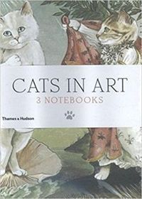 Cats in Art: Mini Notebooks: Set of 3