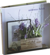Country Flowers Mini Address Book