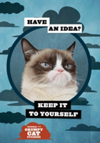 Grumpy Cat Flexi Journal with Stickers